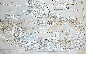 Carta del Golfo del Messico, dell'Isole e