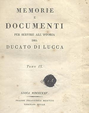 DELLA STORIA LETTERARIA DEL DUCATO LUCCHESE. Libri sette. 1825-1831.: LUCCHESINI Cesare.