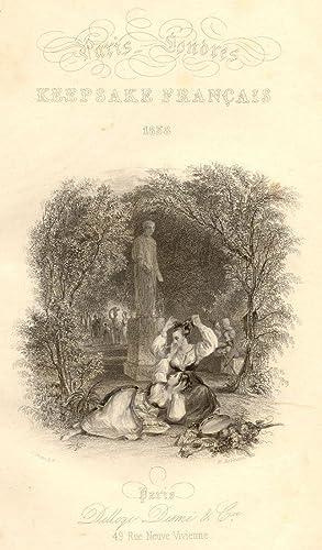 PARIS - LONDRES: KEEPSAKE FRANÇAIS 1838. Nouvelles inédites illustrées par ...