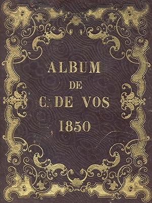 ALBUM DE CHANT. 1850 circa.: De VOS Camille.