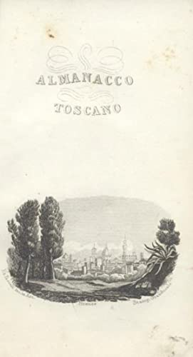 ALMANACCO TOSCANO PER L'ANNO 1857.