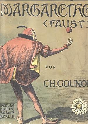 MARGARETHE (FAUST) (1859). Oper in fuenf Akten. Nach Goethe von Jules Barbier und Michel Carr&...