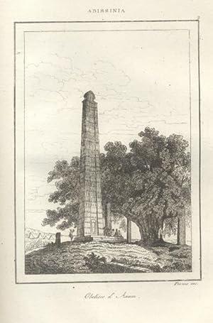 ABISSINIA. L'Universo Pittoresco. (1838).: DESVERGERS A.N.