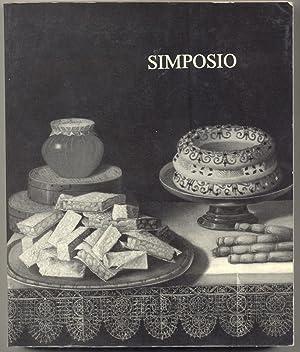 SIMPOSIO. Cerimonie e apparati. Catalogo della mostra. ottobre 1983.: VECA Alberto.