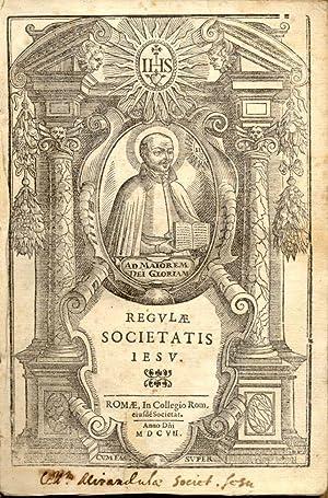 REGULAE SOCIETATIS IESU.
