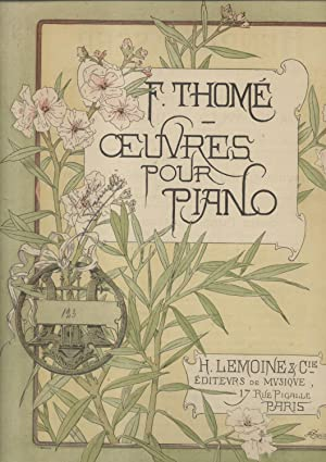 SÉRÉNADE. Oeuvre pour Piano (Op.123) (Pl.n°18271).: THOMÉ François Luc Joseph (...