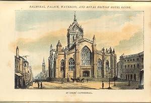 ABC INDEX POCKET COMPANION GUIDE TO EDINBURGH. 1860 circa.: GRIEVE James.
