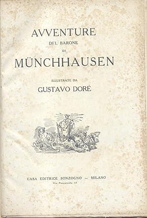 LE AVVENTURE DEL BARONE DI MUNCHHAUSEN.: BURGER Gottfried August.
