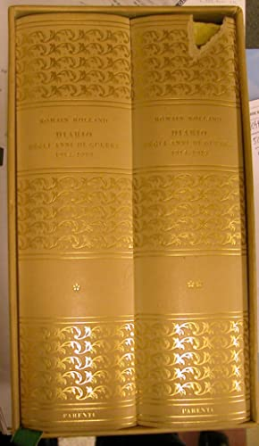 DIARIO DEGLI ANNI DI GUERRA, 1914-1919. Note e documenti per lo studio della storia morale dell&#...