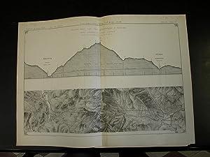 TRAFORO DELLE ALPI TRA BARDONNECHE E MODANE. Sette tavole tecniche di L.Balatri e G.Levi in ...