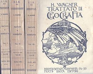 TRATTATO DI GEOGRAFIA GENERALE.: WAGNER Hermann.