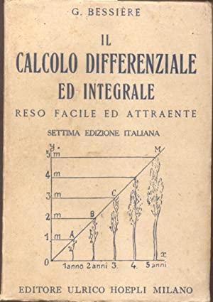 IL CALCOLO DIFFERENZIALE ED INTEGRALE RESO FACILE: BESSIERE Gustavo.