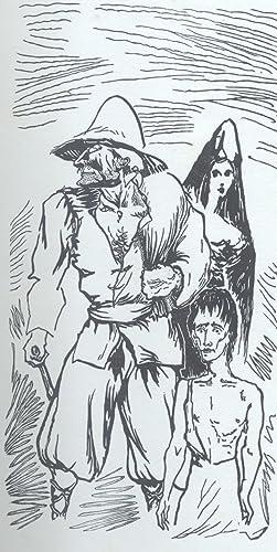 LAZARILLO DE TORMES. La novella è illustrata da ventun legni originali di Aligi Sassu.