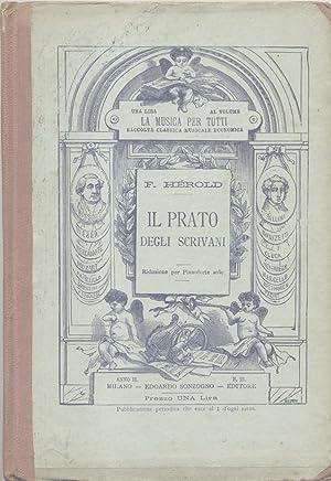 """IL PRATO DEGLI SCRIVANI (""""Le pré aux clercs"""") (1832). Riduzione per Pianoforte ..."""