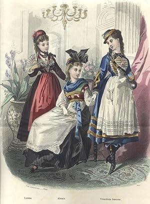STRENNA DEL MONDO ELEGANTE 1877.