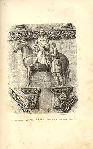 L'ARTE IN LUCCA. Studiata nella sua cattedrale.: RIDOLFI Enrico.