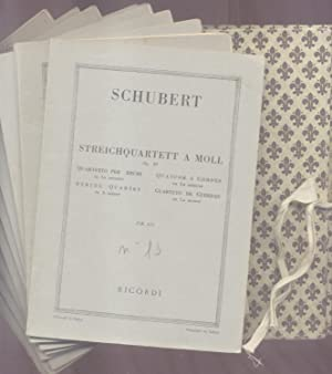 9 QUARTETTI PER ARCHI. 1950-1951.