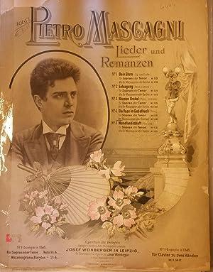 """DIE ROSE IM GEBETBUCH (""""Rosa""""). Riduzione per Canto (Mezzo Soprano o Baritono) con ..."""