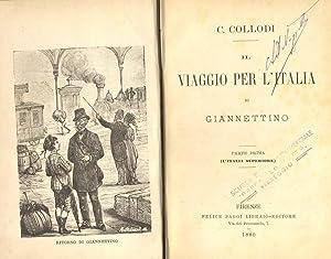 IL VIAGGIO PER L'ITALIA DI GIANNETTINO. Parte: LORENZINI Carlo (Collodi).