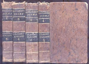IL RICCIARDETTO. 1812-1814.: FORTEGUERRI Niccolò.