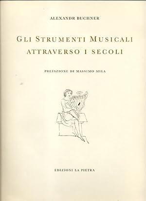 GLI STRUMENTI MUSICALI ATTRAVERSO I SECOLI.: BUCHNER Alexander.
