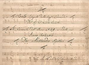 Ballo eseguito dalle Sigg. Educande del R.C.Luisa Carlotta il Carnevale dell'anno 1839 e ...