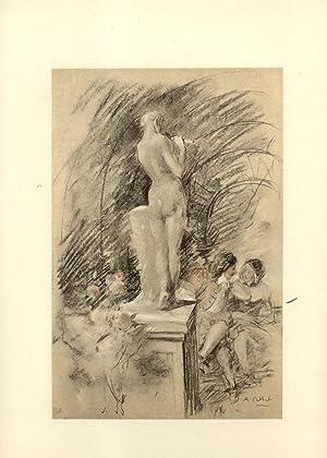 LA PÉCHERESSE. Édition définitive illustrée de vingt Compositions ...