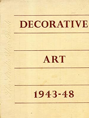 DECORATIVE ART. The Studio Year Bok, 1943-1948.
