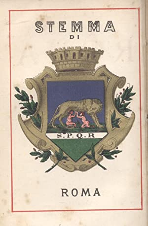 ROMA. Vol.I: Roma antica; Vol.II: Roma moderna.: CALPURNIO A.