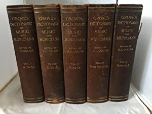 Grove's Dictionary Of Music And Musicians: Volumes I, II, III, IV, V