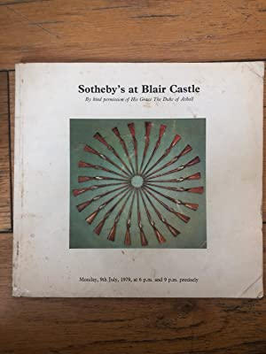 Sotheby's At Blair Castle, Monday 9th July 1979, Fine Modern Sporting Guns And Rifles, Antique Fi...