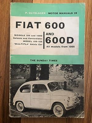 P. Olyslager Motor Manuals 25 - Fiat: Piet Olyslager