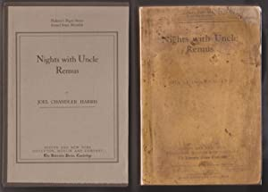 Nights with Uncle Remus: Myths and Legends of the Old Plantation: Harris, Joel Chandler