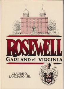 Rosewell, Garland of Virginia: Lanciano Jr., Claude