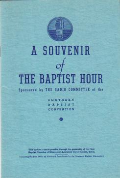 A Souvenir of The Baptist Hour (1941)