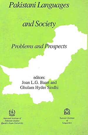 Pakistani Languages and Society Problems and Prospects: Joan L.G. Baart and Ghulam Hyder Sindhi