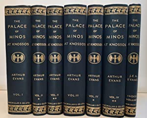 THE PALACE OF MINOS. A COMPARATIVE ACCOUNT OF THE SUCCESSIVE STAGES OF THE EARLY CRETAN CIVILIZAT...