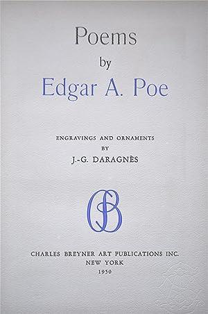 Poems By Edgar A. Poe: Poe, Edgar A.