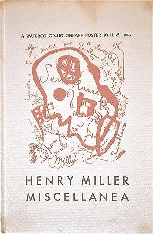 Miscellanea: Miller, Henry