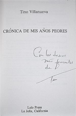 Crónica De Mis Años Peores: Villanueva, Tino
