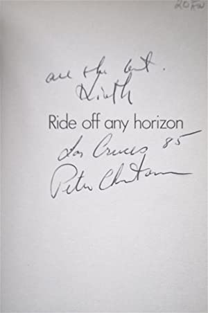 Ride Off Any Horizon: Daniel, Lorne and Christensen, Peter