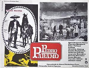 Pedro Páramo Lobby Cards: Rulfo, Juan Author