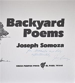 Backyard Poems: Somoza, Joe