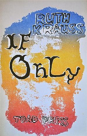 If Only: Krauss, Ruth