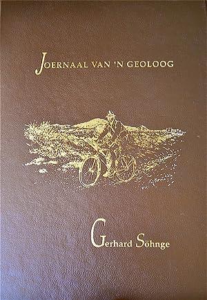 """Joernaal Van """"N Geoloog: Sohnge, Gerhard"""