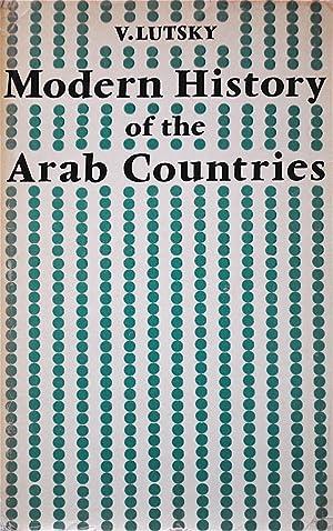 Modern History of the Arab Countries: Lustsky, V.