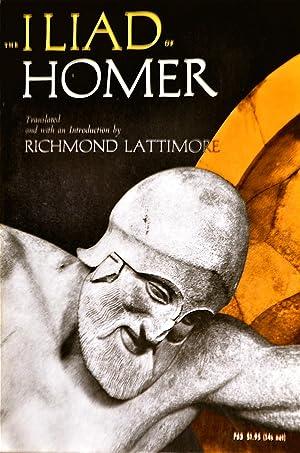 The Iliad of Homer: Lattimore, Richmond Translator