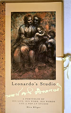 Leonardo's Studio: A Portfolio of His life, His work, His Words and a Pop-Up Studio