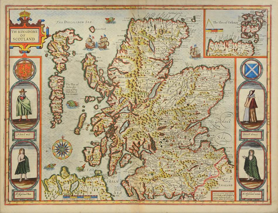 The Kingdome of Scotland.: SPEED, John.
