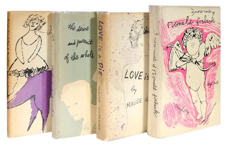 A Collection of Four Novels with Dust-Jackets: WARHOL, Andy.]